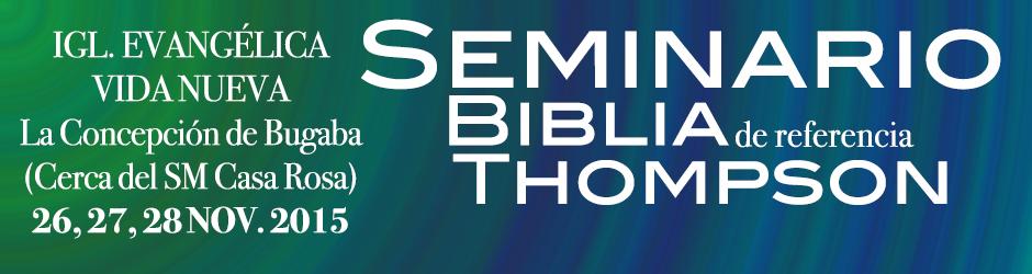 Biblia seminario thomspon