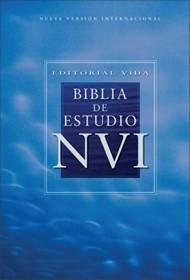 Biblia De Estudio - NVI - Tapa Dura De Colores
