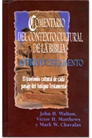 Comentario Del Contexto Cultural De La Biblia (Antiguo Testamento) 