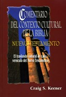 Comentario Del Contexto Cultural De La Biblia (Nuevo Testamento) 