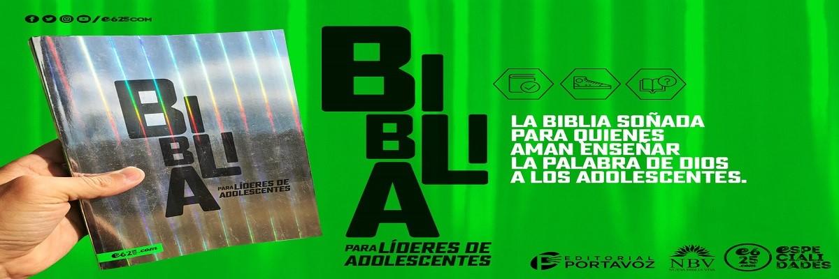 5. Biblia para Líderes de Adolescentes