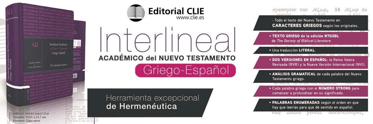 3. Interlineal Académico del Nuevo Testamento