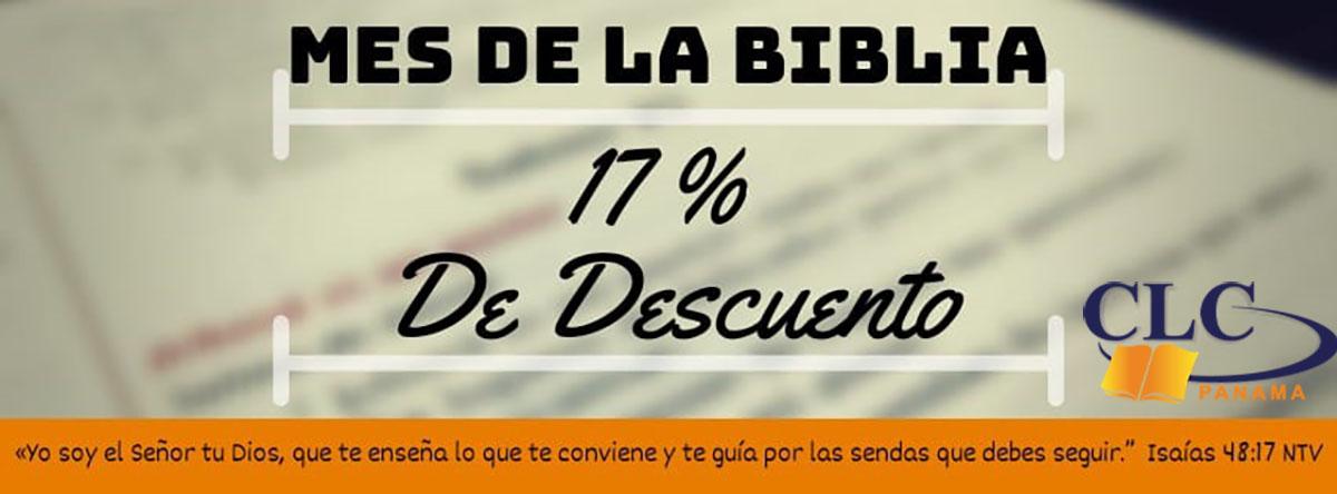1. Mes de la Biblia Desc. 17%