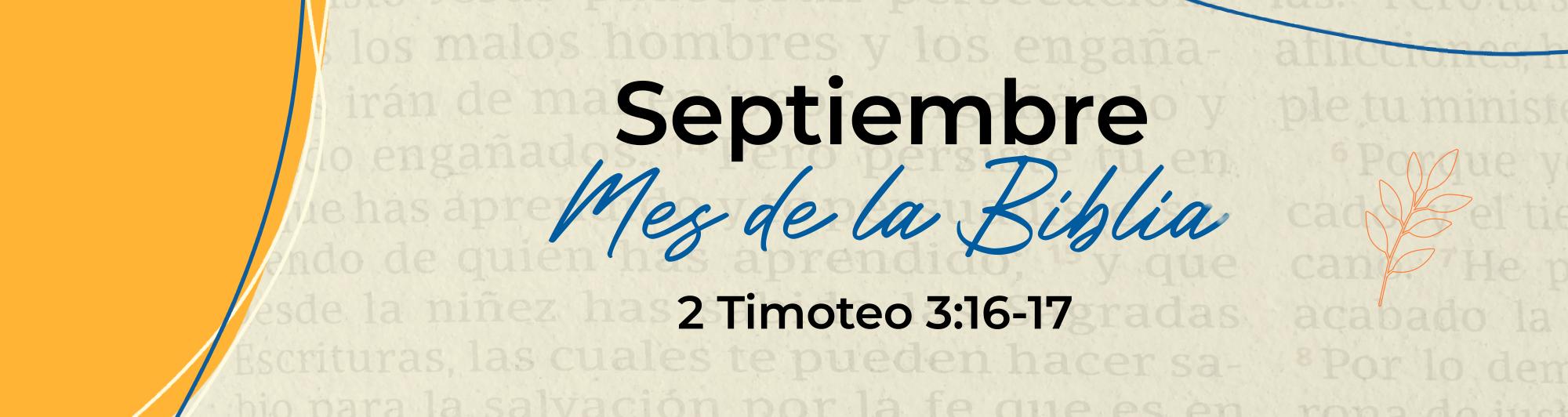 1. Mes de la Biblia - Banner Web