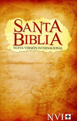 Biblia Nueva Versión Internacional Alcance (Rústica) [Biblia]
