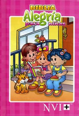 NVI Biblia Alegría para Niñas (Tapa Dura)