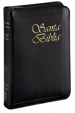 RVR 1960 Biblia con Concordancia y Ziper (Imitación Piel Negro)