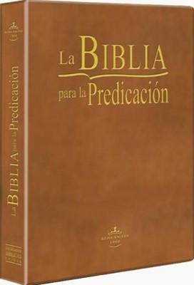 Biblia para La Predicación (Imitación Piel)