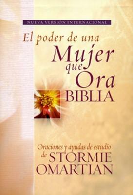 NVI Biblia El Poder de una Mujer que Ora (Tapa Dura)