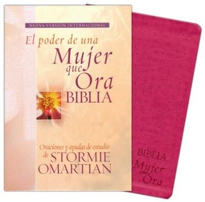 NVI Biblia El Poder de una Mujer que Ora (Piel italiana)