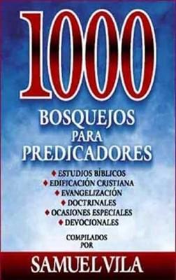 1000 Bosquejos Para Predicadores (Tapa dura)