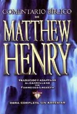 Nuevo comentario Matthew Henry (Tapa Dura)