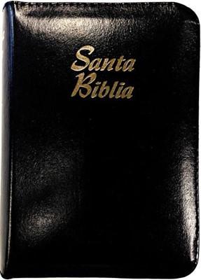 Santa Biblia Compacta con Cierre (Imitación Piel)