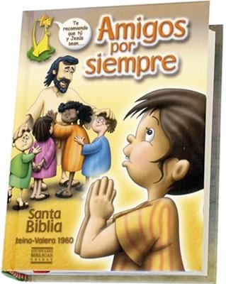 Biblia Amigos por Siempre Letra Grande (Tapa Dura)