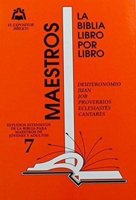 Expositor Maestro T7 Libro X Libro (Rústica)