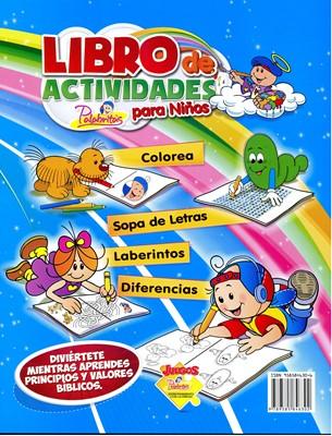 Libro de Actividades para Niños (Rústica)