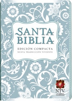 Biblia NTV Compacta (Imitación Piel Azul) [Biblia]