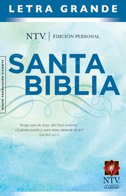 NTV Biblia Edición Personal  Letra Grande (Tapa Dura)