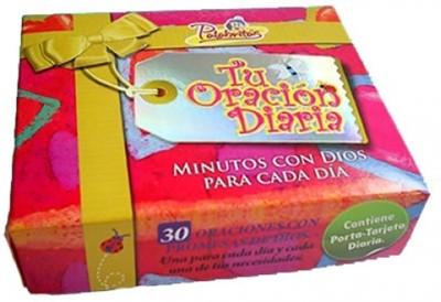 Caja de Promesas: Tu Oración Diaria (Caja de cartón)