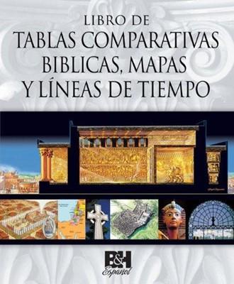 LIBRO DE TABLAS COMPARATIVAS BIBLICAS (Tapa Dura)