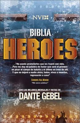 Biblia NVI Héroes (Tapa Dura) [Biblia]
