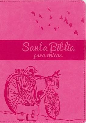 NVI Santa Biblia Para Chicas (Piel Italiana)
