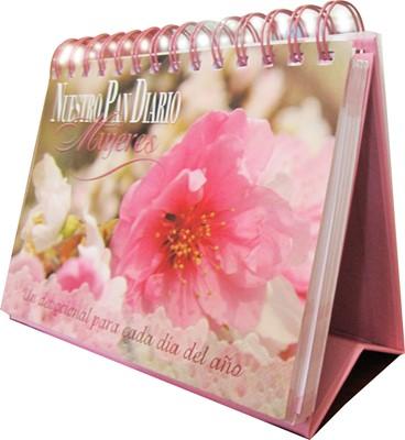 Nuestro Pan Diario Mujeres Edición Escritorio (Tapa Dura Espiral)