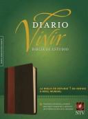 Biblia de Estudio del Diario Vivir NTV (Semi piel dos tonos café - café claro) [Biblia de Estudio]