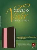 NTV Biblia de Estudio del Diario Vivir (Semi piel dos tonos rosa - café)