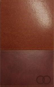 Biblia Devocional Los Lenguajes del Amor (Piel dos tonos - Marrón café) [Biblia]