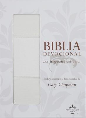 Biblia Devocional Lenguajes del Amor (Imitación piel blanca)