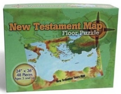 Rompecabezas Mapa del Nuevo Testamento [Misceláneos]