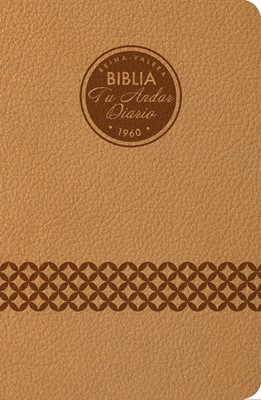 Biblia Tu Andar Diario - Almendra (Piel Especial Almendra)