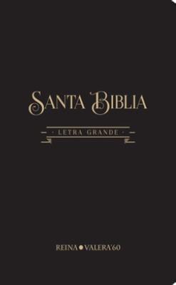 RVR 1960 Biblia de Letra Gigante (Tapa Vinilo negra)