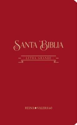 Biblia Letra Gigante (Tapa algodón texturado burdeos)