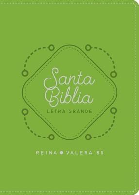 RVR 1960 Biblia Letra Grande (Vinil verdecaña)