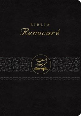 Biblia RVR60 Renovaré (Piel Negro)