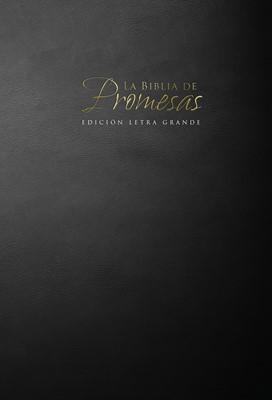 Biblia de Promesas Letra Grande con Índice (Rústica Negro)