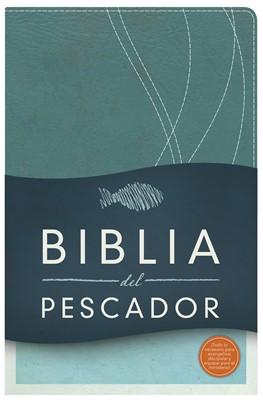 RVR 1960 Biblia del Pescador (Imitación Piel Azul Petróleo )