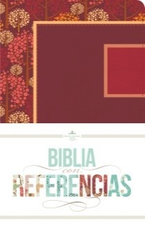 Biblia RVR con Referencias (Símil piel Frambuesa/Granada) [Biblia]