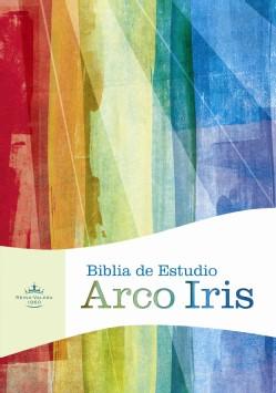 Biblia RVR de Estudio Arco Iris Multicolor (Tapa Dura) [Biblia]