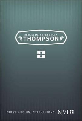 NVI Biblia Thompson con Referencias (Imitación Piel Marrón )
