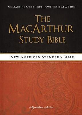 The MacArthur Study Bible -NASB (Tapa Dura) [Biblia de Estudio]