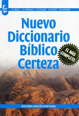 Nuevo Diccionario Bíblico Certeza (Tapa Dura) [Diccionario]