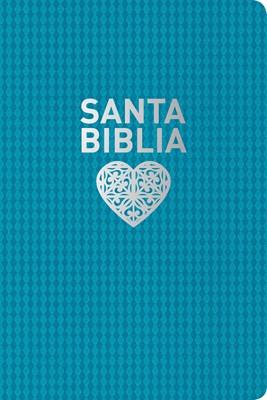 Biblia Nueva Traducción Viviente Edición Personal Letra Grande (SentiPiel Aguamarina) [Biblia]