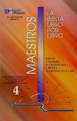 Expositor Maestro T4 Libro X Libro (Rústica)