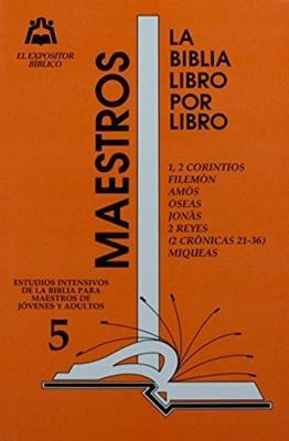 Expositor Maestro T5 Libro X Libro (Rústica)