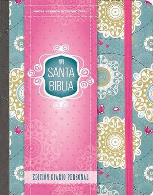 Biblia NVI Edición diario personal (Tapa Dura Floral)