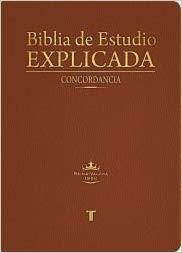 RVR 1960 Biblia de Estudio Explicada con Concordancia (Imitación Piel Especial Marrón)