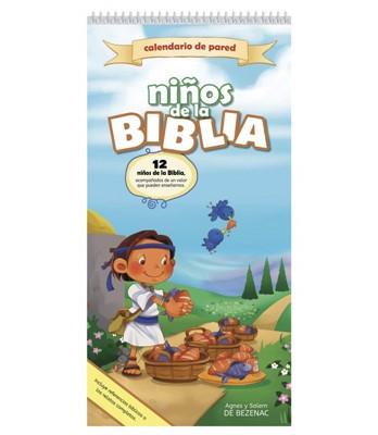 Calendario De Pared Niños De La Biblia (Rústica)